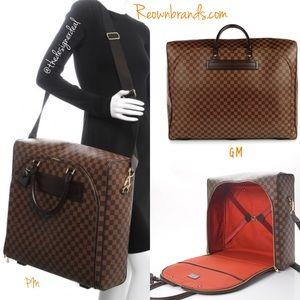 😍 Louis Vuitton Travel Bag Nolita GM damier